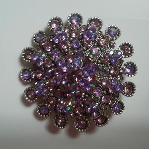 Gorgeous Fine Jewelry Large Antique Brooch